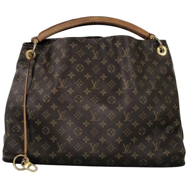 Louis Vuitton Monogram Artsy GM Hobo Shoulder Handbag