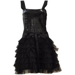 Haute Hippie Sequin and Tulle Dress
