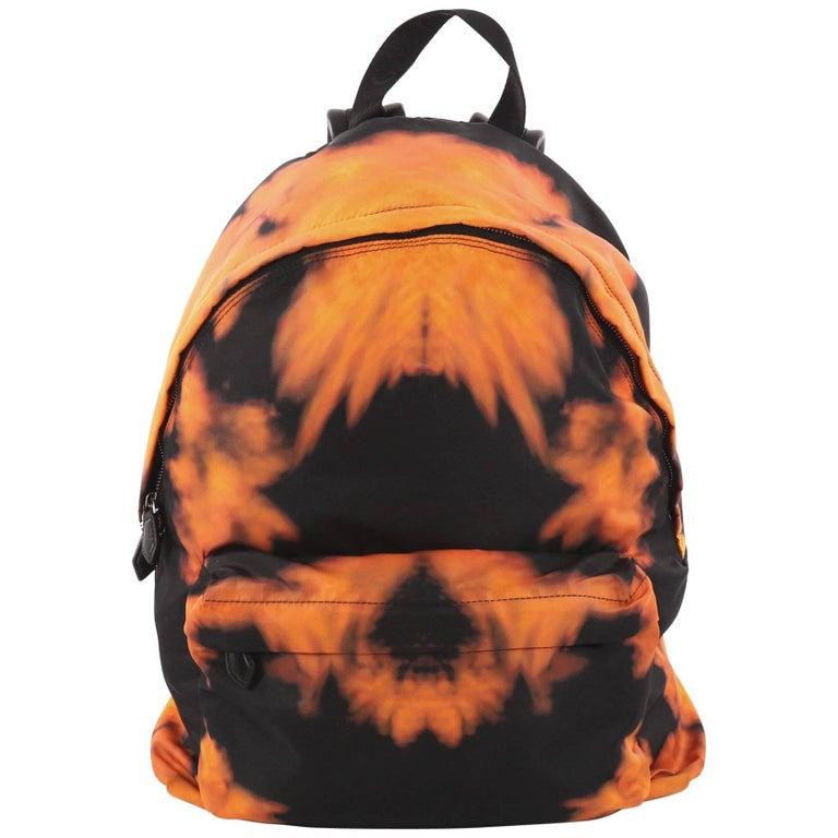 Givenchy Pocket Backpack Printed Nylon