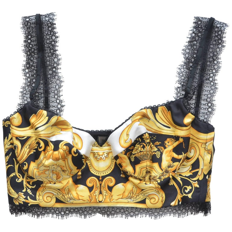 Versace Tribute Bra Top