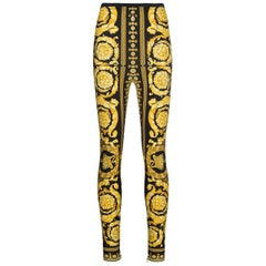 Versace Tribute Baroque leggings pants