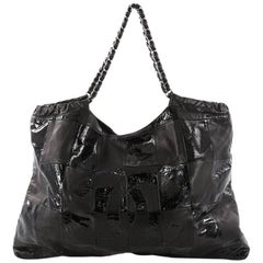Chanel Brooklyn Tote Leather Patchwork Large