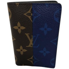 Louis Vuitton Pacific Blue Split Card Holder