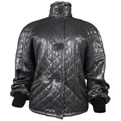 Black and silver Lanvin jacket - Circa 1980