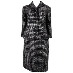 Christian Dior Skirt Suit Original Patron n ° 7351 - Fall 1962
