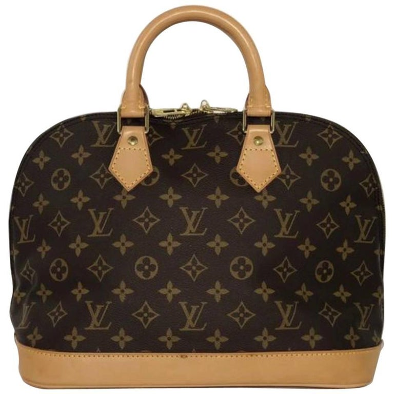 Louis Vuitton Monogram Alma PM Top Handle Satchel Handbag