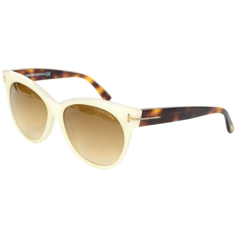 6d673081d3 Tom Ford Silver hardware Sunglasses For Sale at 1stdibs
