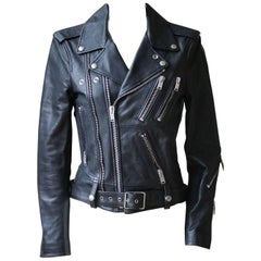 Saint Laurent Classic Motorcycle Leather Jacket