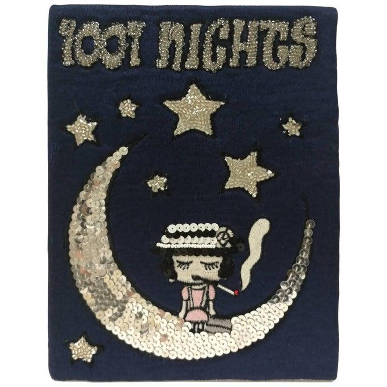 Mua Mua Coco 1001 Nights Book pochette and Shoulder bag