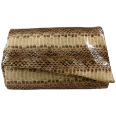 Aphros Small Nude python leather Shoulder bag