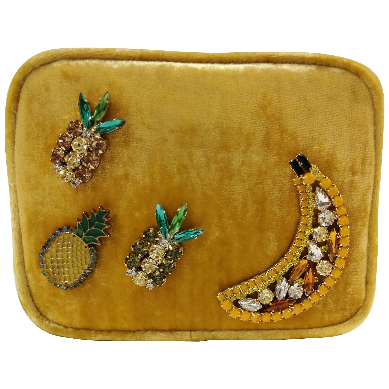 1stdibs Lisa C. Bijoux Gold Leather Fanny Pack And Shoulder Bag 3qblJ6KgS