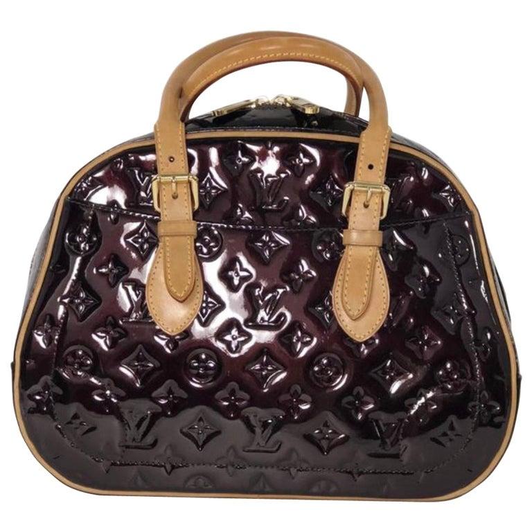 Louis Vuitton Vernis Summit Drive in Amarante Top Handle Handbag