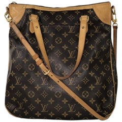 Louis Vuitton Monogram Odeon GM Crossbody Shoulder Handbag