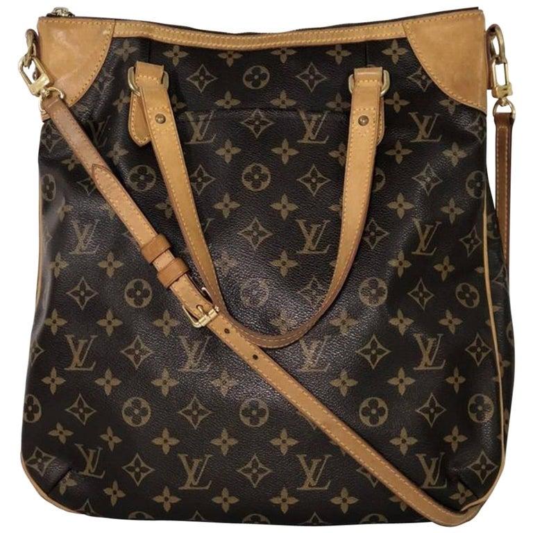 Louis Vuitton Monogram Odeon GM Crossbody Shoulder Handbag