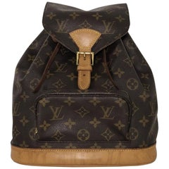 Louis Vuitton Monogram Montsouris MM Backpack Handbag