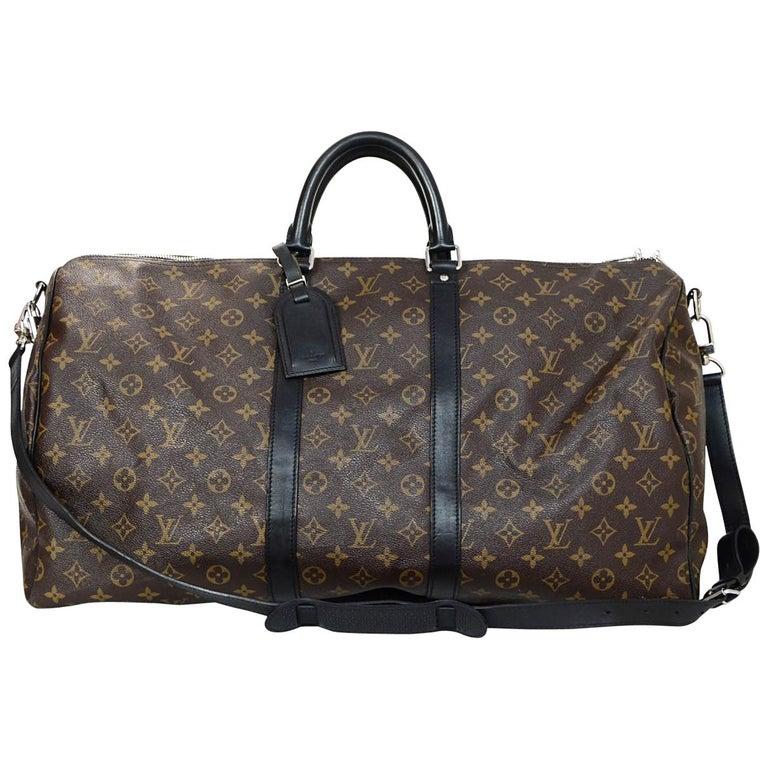 97c79789e92e Louis Vuitton Monogram Macassar Keepall Bandouliere 55 Bag For Sale ...