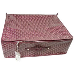 Collectible Caravelle 60 Goyard Folding Suitcase / Like New