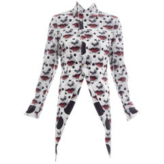 Comme Des Garcons Homme Plus Runway Printed Fornasetti Jacket, Spring 2017