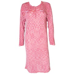 Vintage Missoni Red Knitted Dress