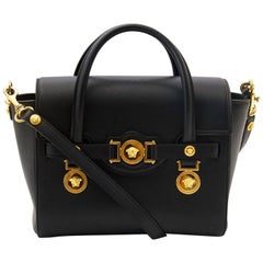Versace Black Medusa Crossbody Bag