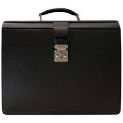 Louis Vuitton Vintage Taiga Briefcase Pilot Case Oural Epicea
