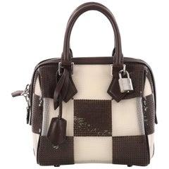 Louis Vuitton Speedy Cube Bag Damier Optic Mesh TPM