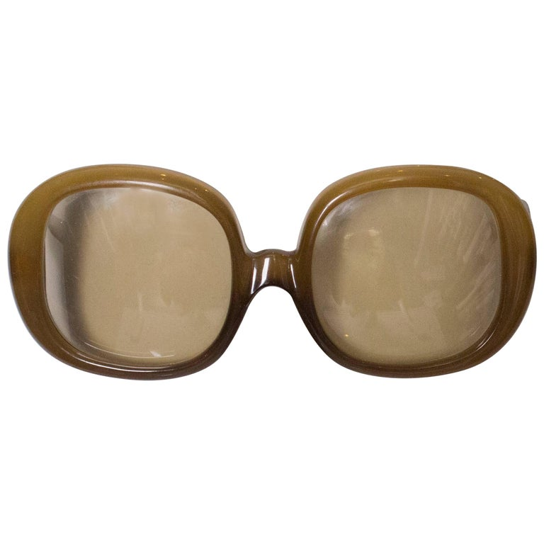 A pair of Vintage 1970s sunglasses by Christian Dior
