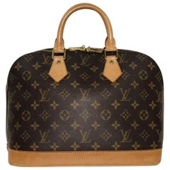 Louis Vuitton Monogram Alma PM Top Handle Satchel Handbag