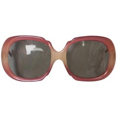 A pair of vintage 1970s sunglasses by Correna Italy