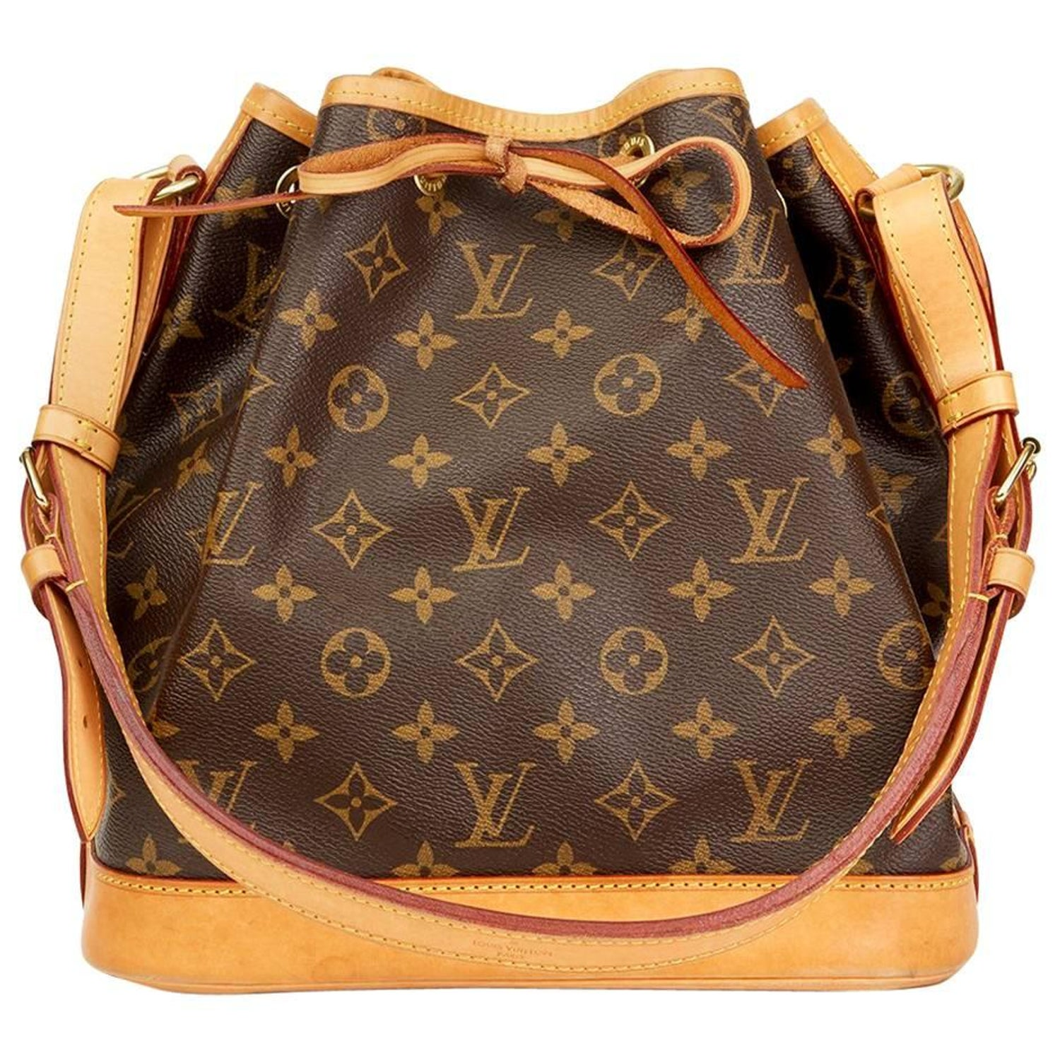 bfed5c73f8aa 2016 Louis Vuitton Brown Classic Monogram Canvas Petit Noe at 1stdibs