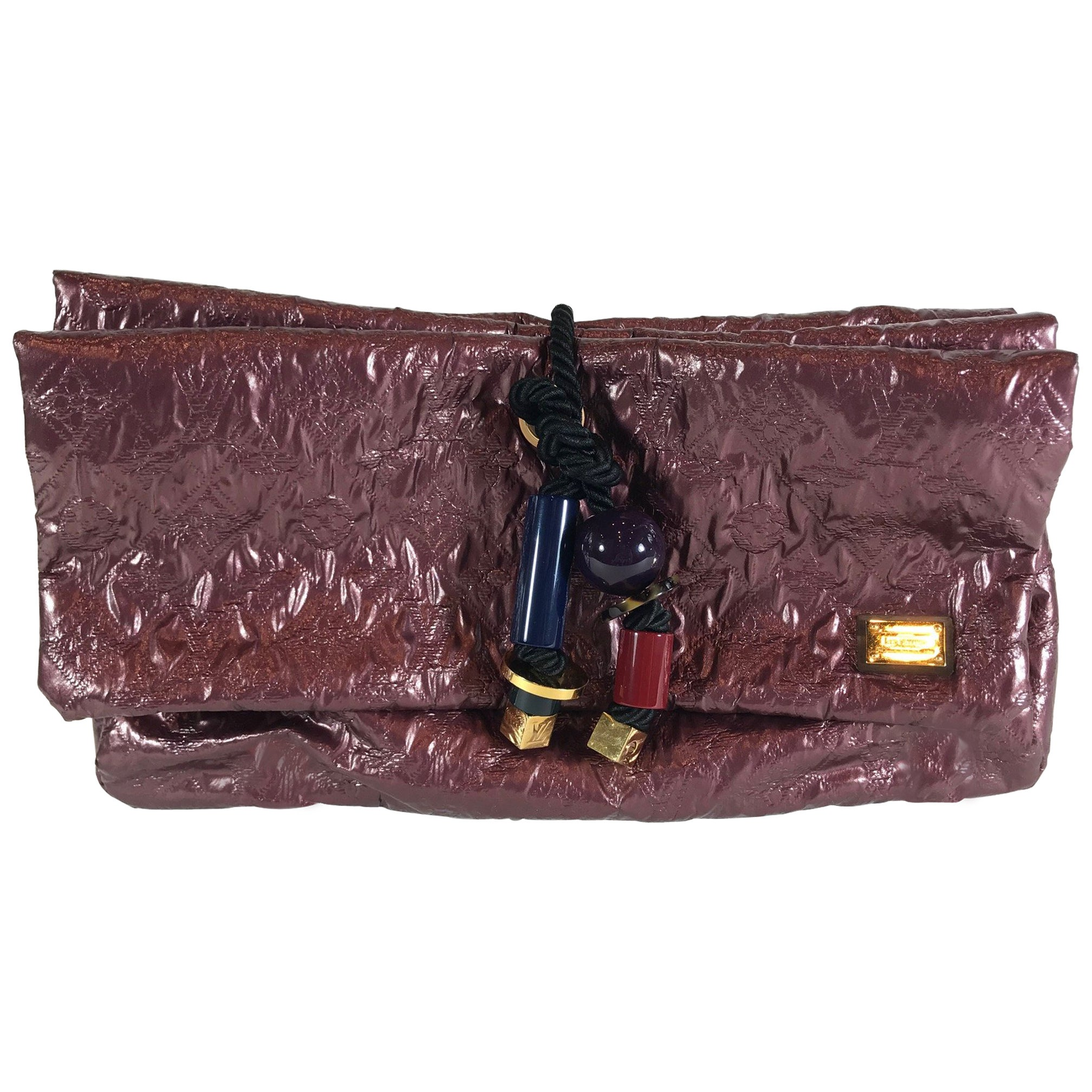 869ab5d1e2e4 Louis Vuitton Limited Edition Limelight African Queen Clutch For Sale at  1stdibs