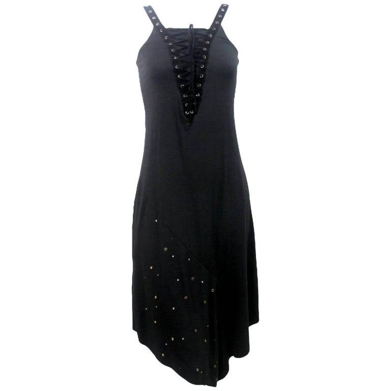 Alexander McQueen 1990's Collection Laced and Eyelet Dress