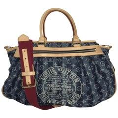 Louis Vuitton Monogram Porte Epaule Cruise Cabas Raye Shoulder Handbag