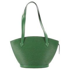 Louis Vuitton Epi Leather PM Saint Jacques Handbag