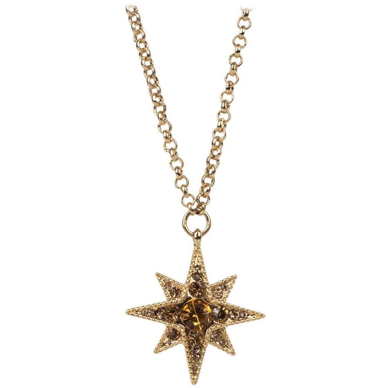 Roberto cavalli gold star swarovski crystal pendant necklace for roberto cavalli gold star swarovski crystal pendant necklace for sale aloadofball Image collections