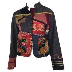 Voyage Passion Embellished Denim Jacket