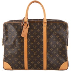Louis Vuitton Porte-Documents Voyage Briefcase Monogram Canvas