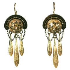 Elegant Victorian Drop Earrings