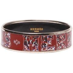 Hermes Vintage Enamel Cuff Bracelet
