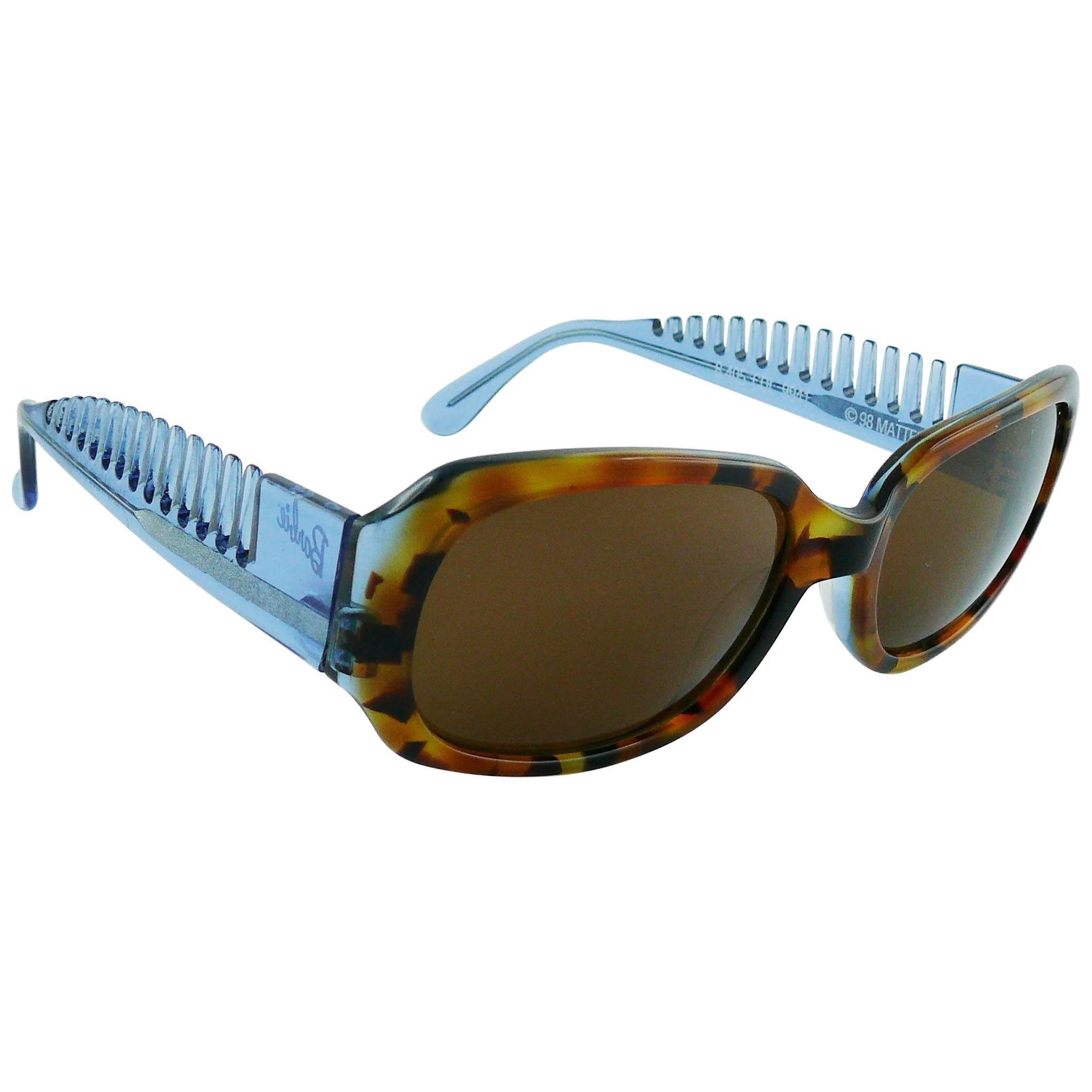 Alain Mikli x Barbie Vintage 1990s Sunglasses with Comb Temples