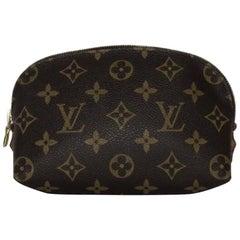 Louis Vuitton Monogram Pochette Cosmetic Case