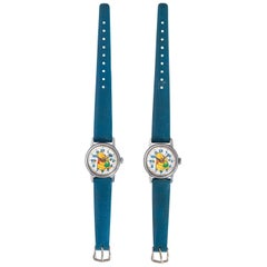Pair of Winnie the Pooh Watches by Sears