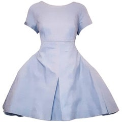 Chanel Karl Lagerfeld Cotton Chambray Dress, Cruise 2013 Collection