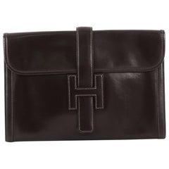 Hermes Jige Clutch Box Calf PM