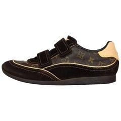 Louis Vuitton's Men's Monogram Speeding Velcro Sneakers Sz 11 with Box, DB