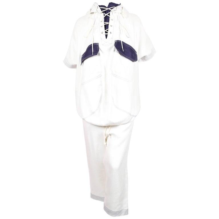 Junya Watanabe Comme Des Garcons runway sailor suit, 2011