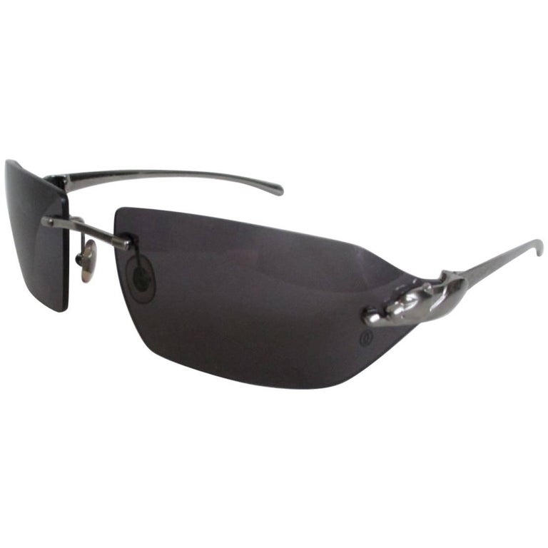 70775d8ecf2 cartier paris panthere sunglasses For Sale at 1stdibs