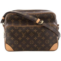 Louis Vuitton Nil Handbag Monogram Canvas 28
