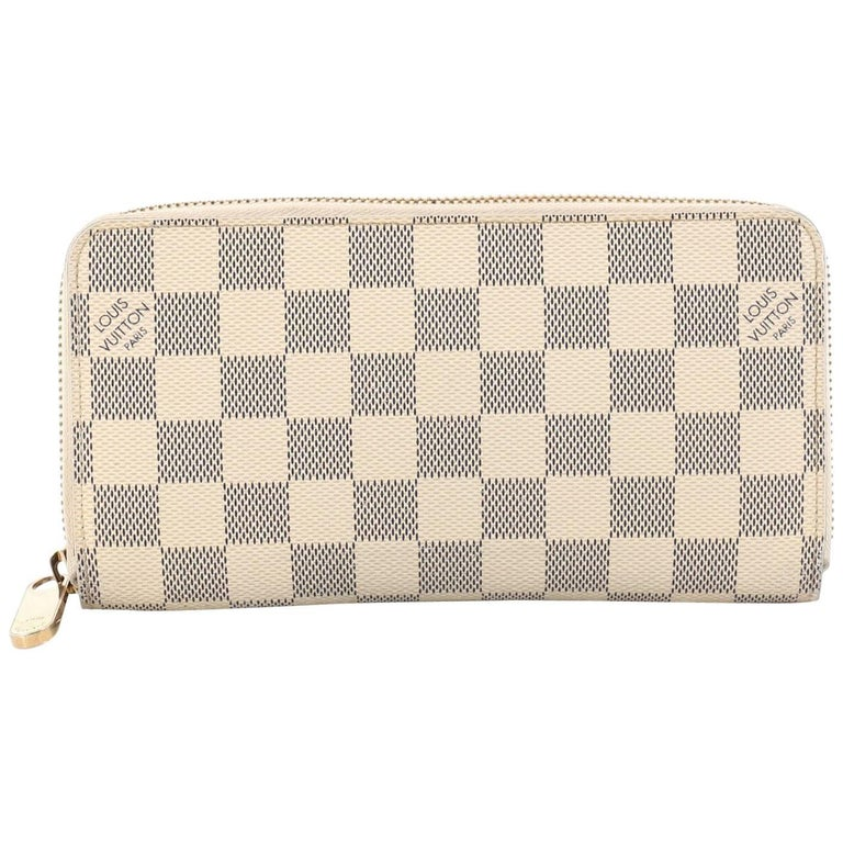 Louis Vuitton Damier Zippy Wallet at 1stdibs 3712fcec983