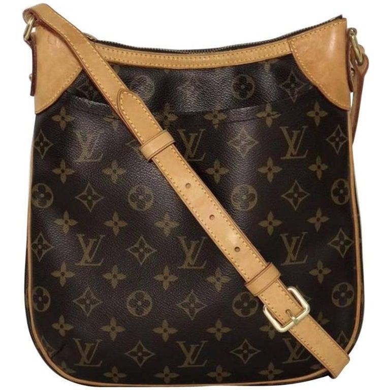 Louis Vuitton Monogram Odeon PM Crossbody Handbag